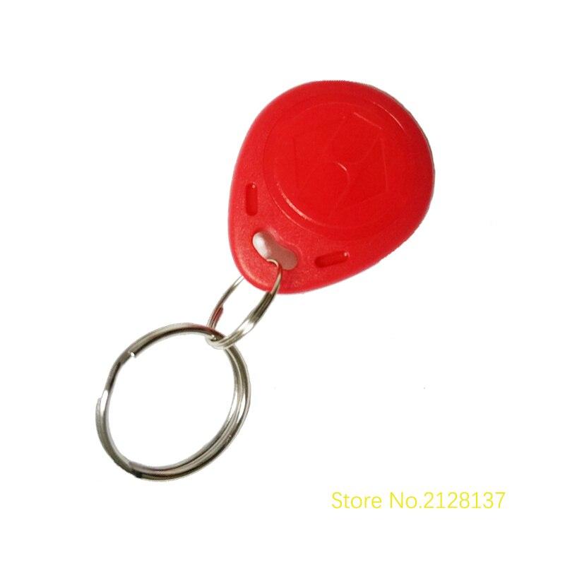 galo 100 stucke 125 Khz RFID Nahe Keyfobs Ring Access Control-Card Rfid Rot Gelb Blau Tags