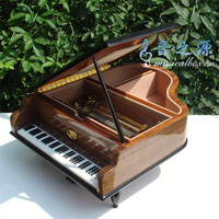 Musica boutique 50 notes grand piano music box birthday day gift music box decoration