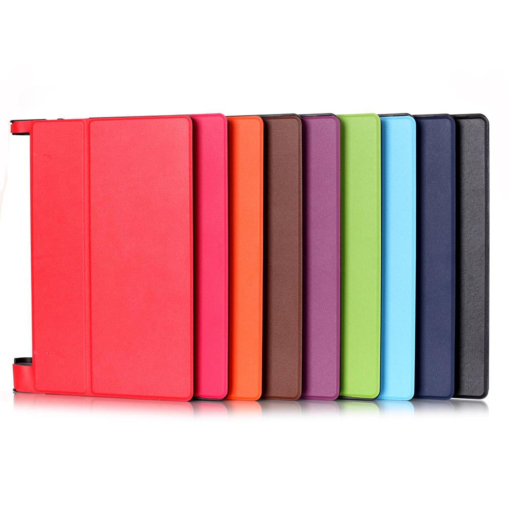 For Lenovo YOGA Tab3 10 X50L Smart Cover PU Leather Case for Lenovo Yoga Tab 3 10 X50 X50F X50M 10.1inch Tablet Case+Touch Pen