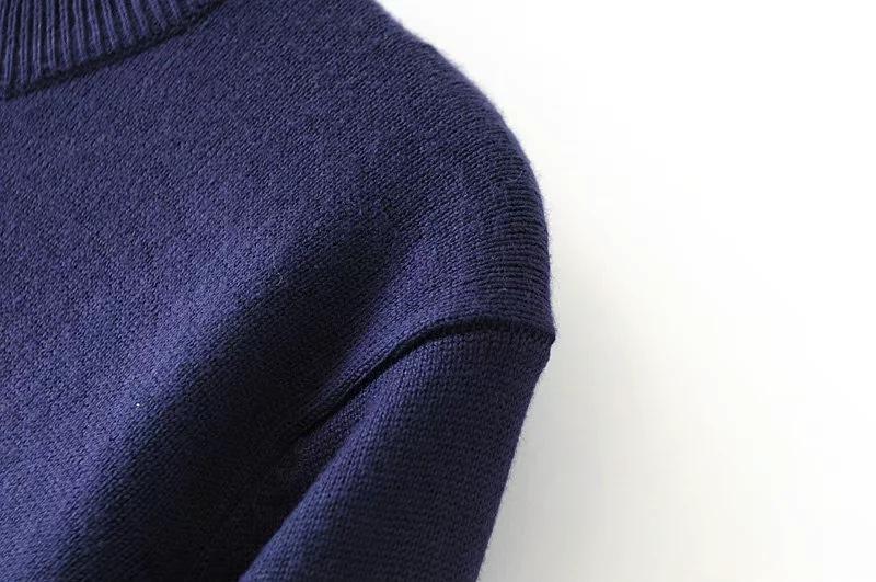 HTB1pHbQSpXXXXciXFXXq6xXFXXX3 - Striped Splicing wild loose sweater Womens soft pullovers PTC 73