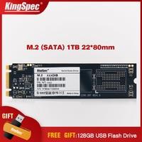 Kingspec NGFF M2 SSD 1 ТБ 22*80 сигнал SATA SSD M.2 SATAIII 6 ГБ/сек. внутренний жесткий диск HD Disco модуль для ультрабука/ноутбук