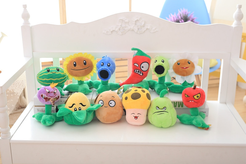 21 Styles Plants vs Zombies Plush Toys 20-30cm Plants vs Zombies Soft Stuffed Plush Toys Doll Baby Toy for Kids Gifts Party Toys ...