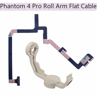 Gimbal Roll Arm Camera Bracket & Flex Cable Flat Ribbon Cable for DJI Phantom 4 Pro Drone P4 Camera Stabilizer Repairing Parts