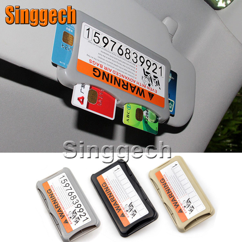 Car Styling Carring Bag For kia Rio K2 Ceed Soul Cerato Sorento Sportage Seat Leon with car stickers Temporary Parking Card kia ceed автомобили с пробегом