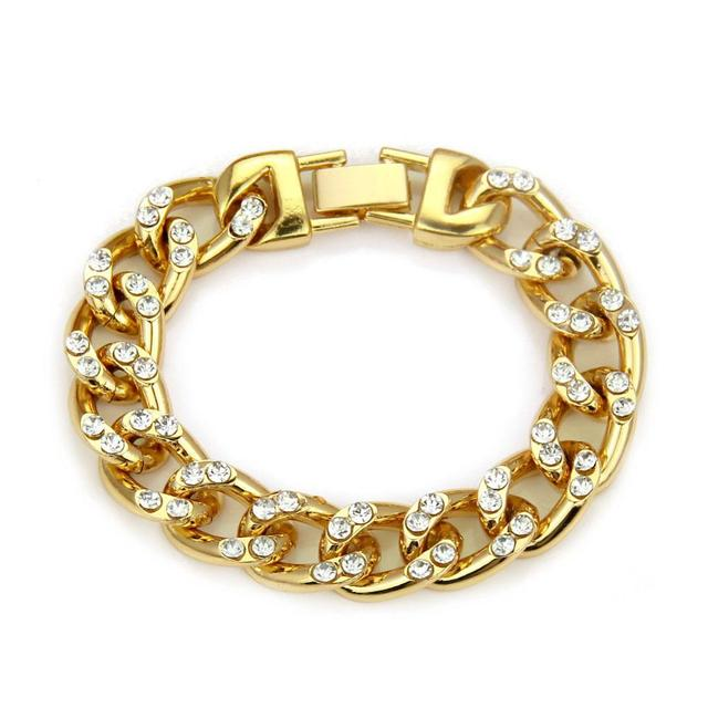 Men Hiphop Iced Out Bling...