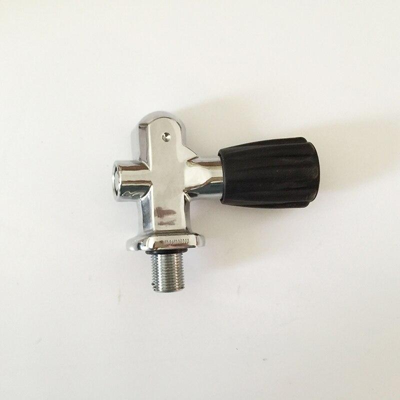 цена на hot sale 2017 diving cylinder bottle valve M18*1.5 high pressure switch valve oxygen cylinder diving respirator-K