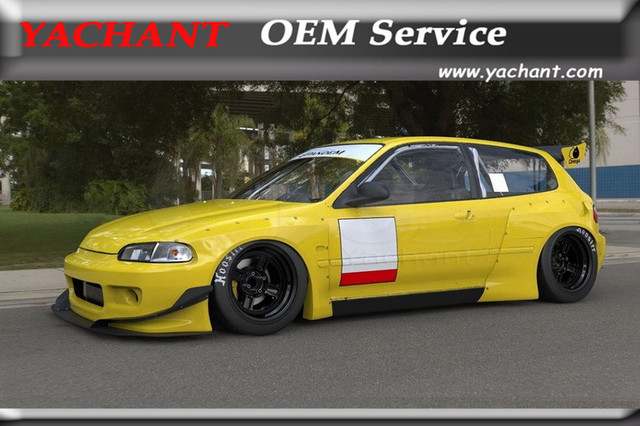 92 civic hatchback side skirts
