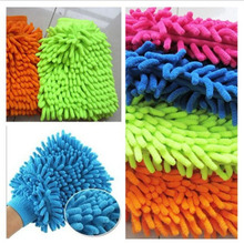 1pcs Household Cleaning Tools Car Glove Clean Towel Wool Cloth Washing Towel Bathroom Kitchen Bedroom Clean Assistant D0273