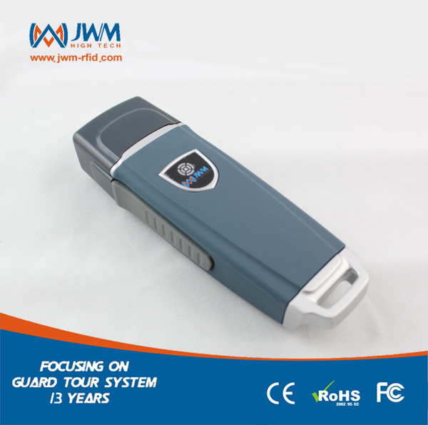 JWM Waterproof IP67 Durable RFID Guard Tour Patrol System, Security Patrol Wand,Guard Tour Reader With Free Cloud Software