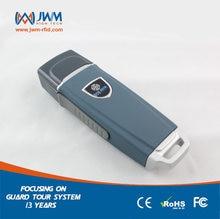 JWM 방수 IP67 내구성 RFID 가드 투어 순찰 시스템, 보안 순찰 지팡이, 무료 클라우드 소프트웨어와 가드 투어 리더