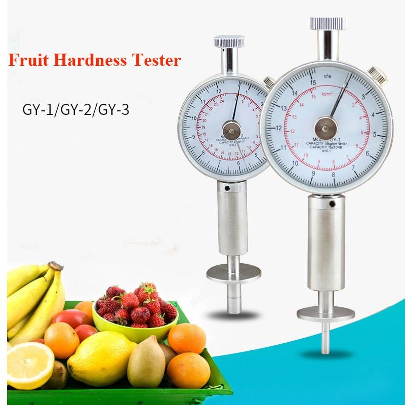 GY 3 GY 2 GY 1 Fruit Hardness Tester Fruit Sclerometer Fruit penetrometer Fruit durometer for