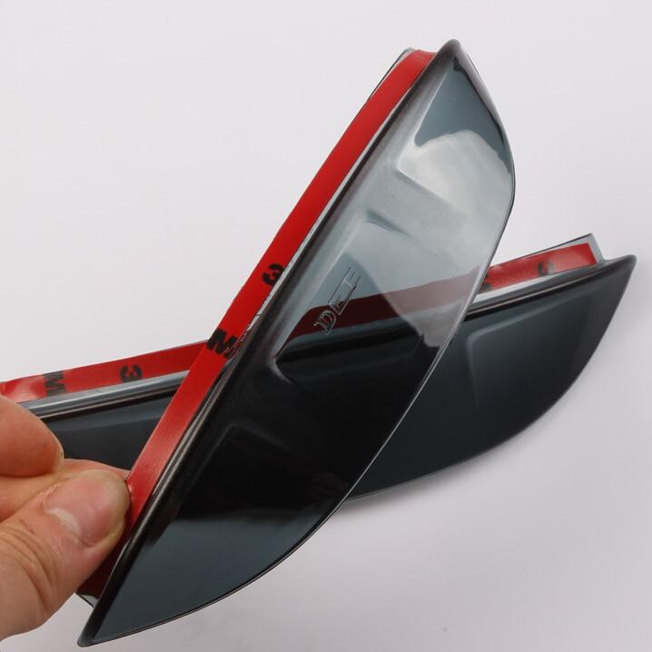 Αυτόματη κάθισμα οπισθίου καθρέφτη Deflector για την Volkswagen Tiguan 2008-2015, ABS, 2pcs / lot, styling αυτοκινήτου