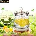 Умный чайник для здоровья  полностью автоматический чайник для вареного чая  стеклянная плита  интеллектуальный Электрический чайник