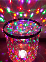 2018Laser Magic Ball Flying Water Drum / Colorful Sound Control Water Drum / LED Laser Water Drum / Adult Water Drum