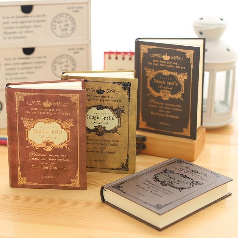 KIMCOOL Classical Bronzing Series Notebook European Hardcover Notepad 1PCS