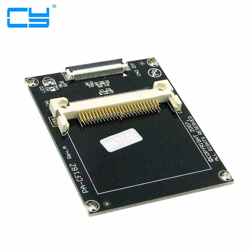 1.8 Compact Flash карты памяти CF в ce для Toshiba Ipod ZIF SSD HDD адаптер с 2 Кабели ...