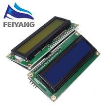 10 adet LCD1602 + I2C 1602 seri mavi/yeşil arkadan aydınlatmalı LCD ekran 2560 UNO AVR IIC/I2C arduino için
