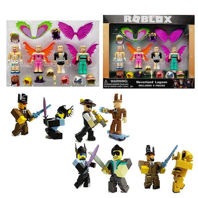 2018 Roblox Figure Toys 7cm Pvc Roblox Men Game Figurine Roblox Game
