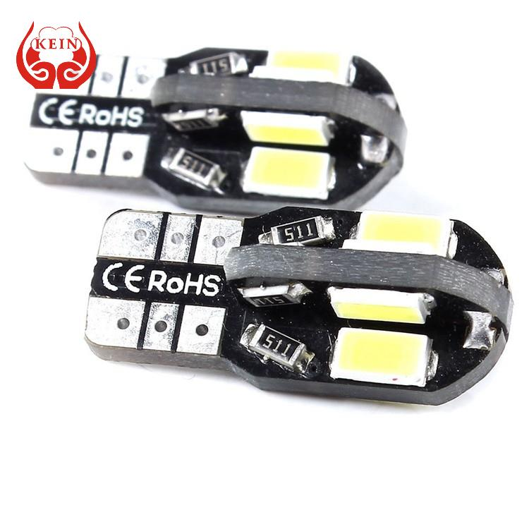 KEIN 1pcs T10 8 smd 5630 5730 led Canbus Error Free auto Clearance Lights W5W 8smd