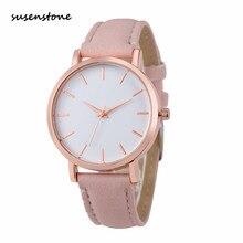 Susenstone 2017 Fashion women Watch Beautiful Women WristWatch Elegant Ladies Watch Clock Best Gift Relogio Feminino kol saati