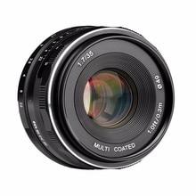 Meike MK-EF-M-35-1.7 35mm f1.7 Large Aperture Manual Focus lens EF-M mount APS-C For Canon for EOS M1 M2 M3 mcoplus 12mm f 2 8 manual ultra wide angle lens aps c for canon eos ef m mount mirrorless camera eos m eos m2 eos m10 eos m3