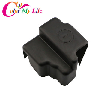 Color My Life Car Battery Negative Protection Cover Frame Clip Case ABS Plastic Covers For Honda CRV CR-V 2012 - 2017 Parts image