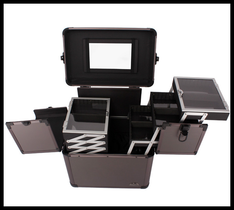 Ems Professionelles Box Trolley Salon Case Kosmetik Beauty up freies Make Verschiffen qfPwCrFq