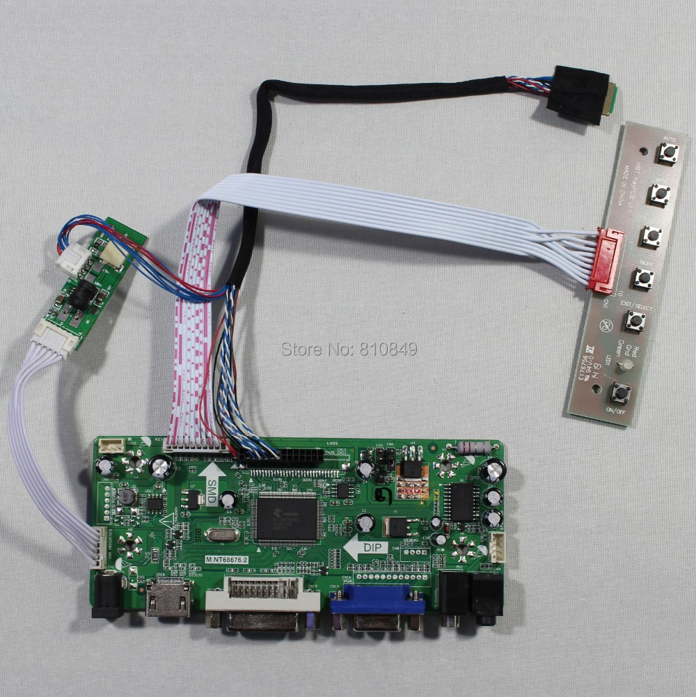HDMI VGA DVI Audio Controller board for 9 7inch LTN097XL01 1024X768 Lcd