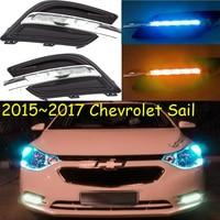 2015 2016 Chevrole Sai Daytime Light Free Ship LED Sai Fog Light 2ps Set Sai