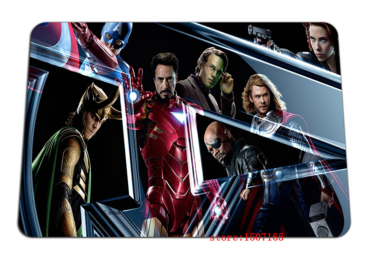 9 size cool The Avengers mouse pad logo large pad to mouse computer mousepad HD pattern gaming mouse mats to mouse gamer