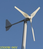 WWS ENERGY Wind Power Generator 3000W 96V 3 Blades fit for Home Ship Boat Yacht use