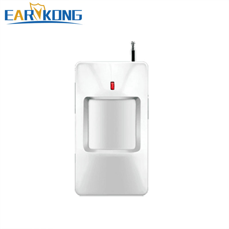 Hot Selling 433MHz wireless Infrared Detector PIR Motion Detector For Home Burglar GSM Alarm System Wireless Sensor Alarm цена и фото