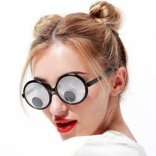Солнечные очки с движущимися глазами, забавные, креативные, новинка, вечерние, необычные, забавные игрушки, вечерние, костюмы, Новое поступление