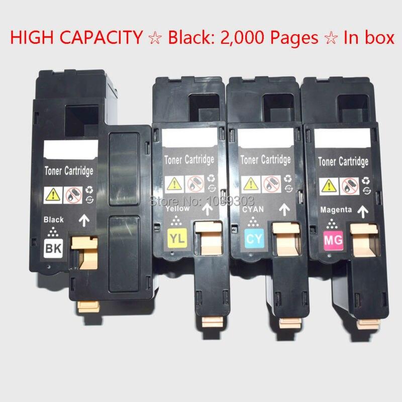 1PK Yellow Toner 1250 1250C For Dell C1760nw C1765nf C1765nfw 1350CNW 1355CNW