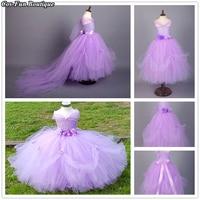 PRINCESS TUTU Bridesmaid Weeeding Dress Elsa Anna Belle Rapunzel Sofia Dress Birthday Party Dress Girl Cosplay Costumes Fancy