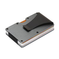 Minimalist Slim Wallet RFID Blocking Credit Cards Holder Front Pocket Wallet For Men And Women With