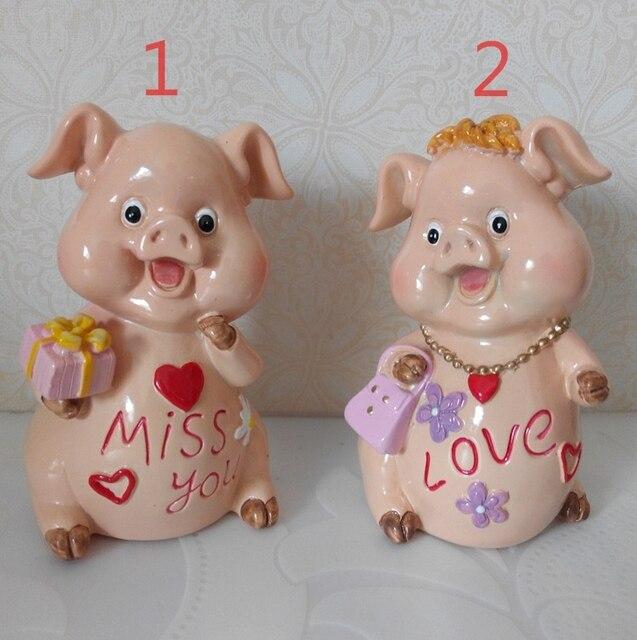silicagel silicone mold valentijnsdag dier varkens ambachten slaapkamer kaars schimmel decoratie mode koppels huwelijksgeschenken mallen