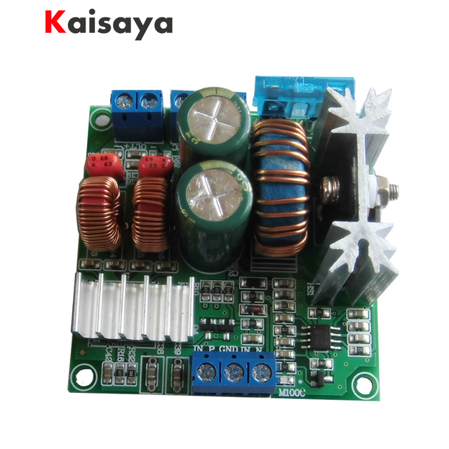 US $16 99 49% OFF|new version 12V 100W mono battery powered car mobile  audio TPA3116 digital power amplifier board high efficiency more than 90%  -in