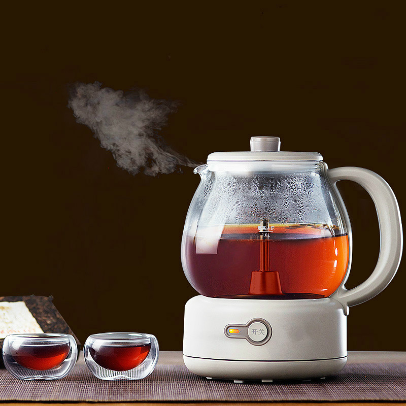 NEW Tea kettle automatic steam black tea pu 'er electric health pot glass mini office [grandness] 1501 yunnan menghai dayi puer 8592 puer chi tse beeng ripe pu erh pu tea genuine certified menghai 8592 tea 357g