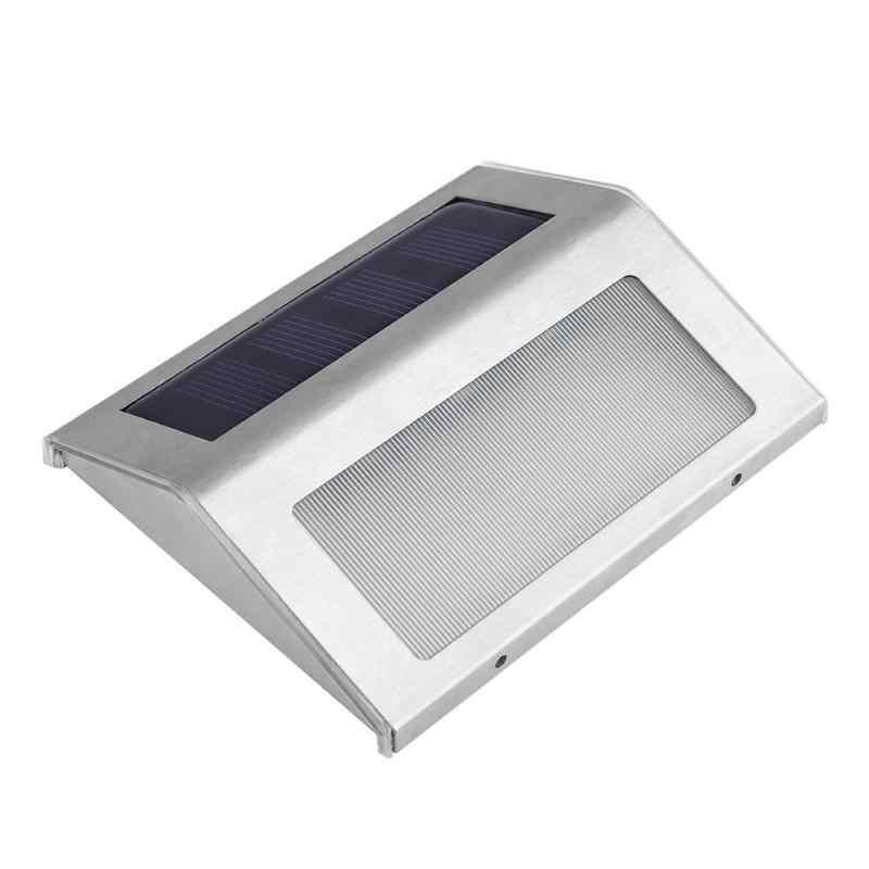3LED de luz Solar impermeable al aire libre jardín Solar PIR Sensor de movimiento de la pared Luz de energía de ahorro de energía patio camino de luz