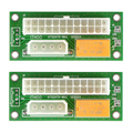 2017 New 2pcs/lot ATX 24Pin to SATA Molex 4Pin Dual PSU Starter Card Power Supply Sync Extender Cable Card For BTC Miner Machine