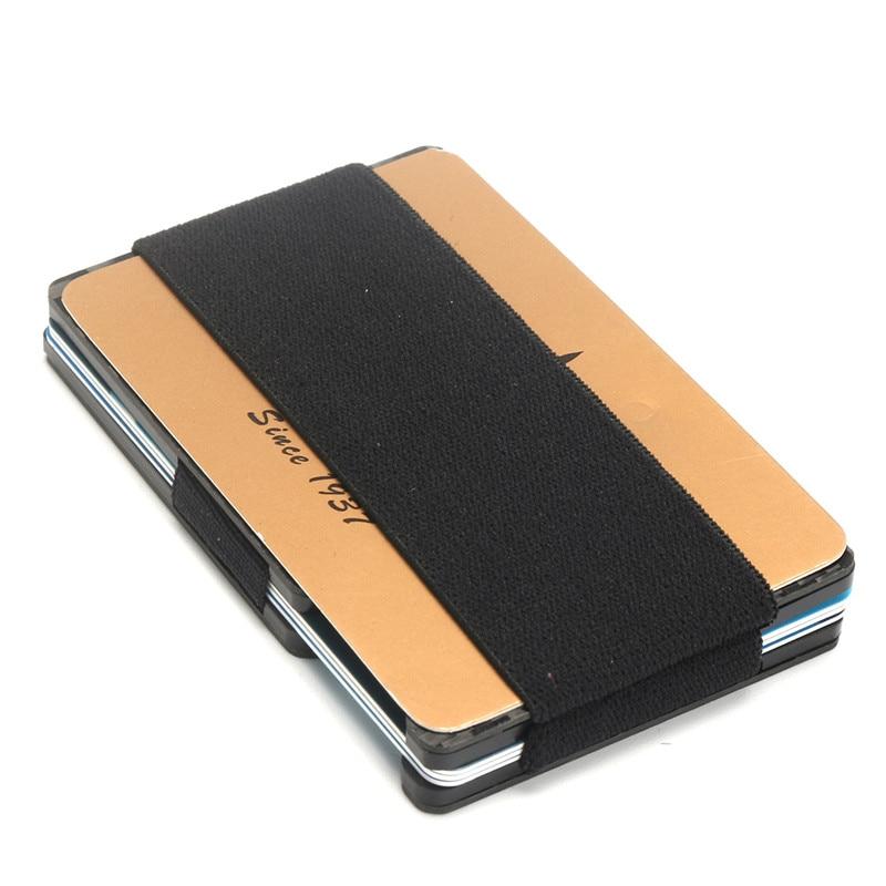 AEQUEEN RFID Wallet Credit Card Cases Anti Scan Metal ID Case ...