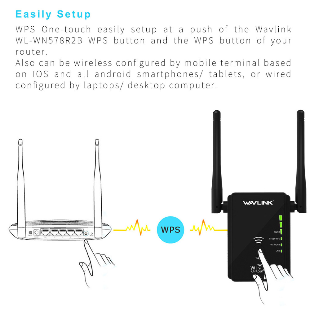 Original wireless wifi repeater wifi range extender signal amplifier original wireless wifi repeater wifi range extender signal amplifier 80211nbg 300mbps wi fi signal booster repetidor wavlink in wireless routers from greentooth