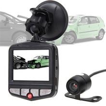 Buy Universal HD Suction Car Vehicle Auto DVR Dual Camera Lens Full Video Night Vision Multi-Language