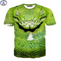 Mr.1991 new 11-20 years big boys t-shirt 3D viper printed short sleeve tshirt kids clothing street skate boy tees tops DT26