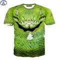 Mr.1991 nuevo 11-20 años chicos grandes camiseta 3D viper impreso de manga corta camiseta ropa de niños de la calle skate boy tees tops DT26