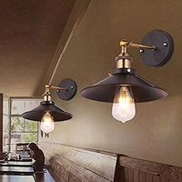 Vintage Wall Light Country Bar Retro Wall Lamp Decoration Aisle Sconces