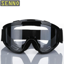 Black Safety Goggles Tactical Goggles High Quality Windproof Anti-Shock Shockproof and Dust Industrial Labor Protective Glasses
