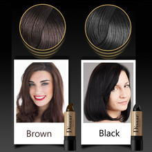Hair Color Pen Stick Lasting Fast Temporary Dye To Cover White 10g fast One-off feather cover white hair  #20.15