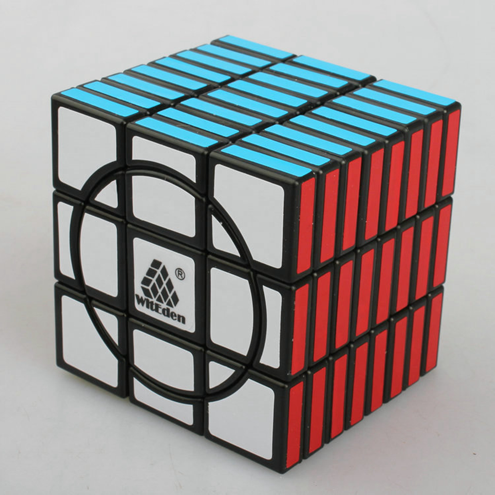 WitEden Super 3x3x8 8 Layer Magic Cube Speed Cube Puzzle Game Education Toys for Kids Children